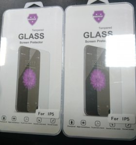 Стекло защитное iPhone 4/5