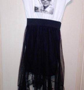 Новое платье,размер 42-44
