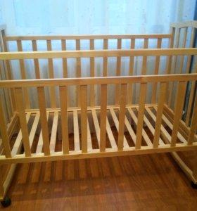 Детская кроватка до 3 лет