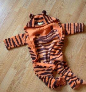 Детский комбенизон+ подарок забавная детская шапоч