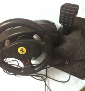 Руль с педалями Thrustmaster Ferrari GT Experience