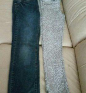 Модные джинсы и леггинсы