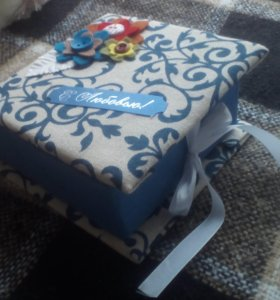 Подарочная коробочка ручной работы