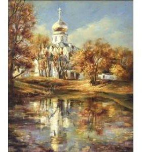 """Картина по номерам """"Златоглавый собор"""""""