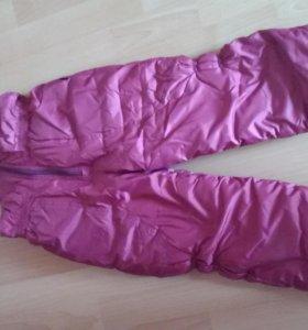 Комплект зимняя куртка, комбинезон, для девочки.