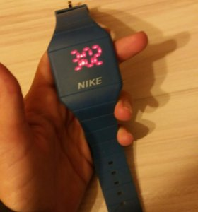 Часы Nike led watch
