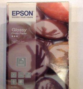 Глянцевая фотобумага Epson 10x15