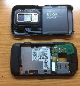 Смартфон Nokia N86 8mp в разобранном состоянии