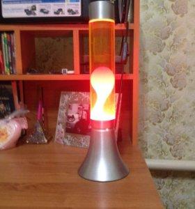 Продам светильник лампа -лава