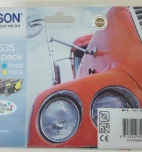 Картриджи epson t0635 multipack комплект