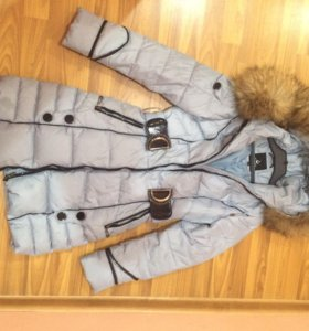 Пуховик-пальто, зима