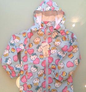 Новая ветровка Hello Kitty 116-122 р-р