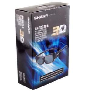 3d очки sharp