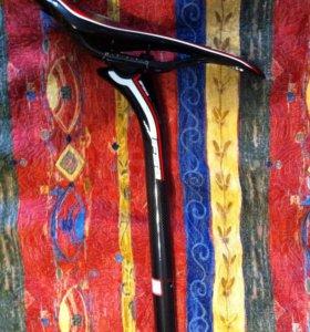 Седло carbon для велосипеда с подседельной трубой