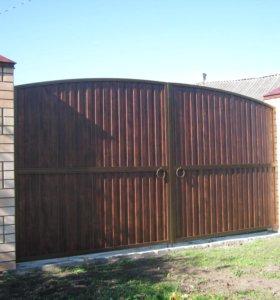 Ворота калитки и т.д