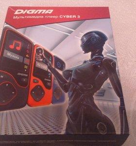 Мултимедийный плеер Digma Cyber 3 новый