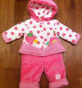 Детский комбинезон костюм для девочки