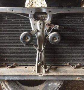 Радиатор кондиционера на легаси BH-5