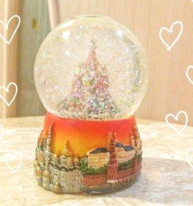 Сувенир шар стеклянный