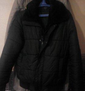 Зимняя короткая мужская куртка
