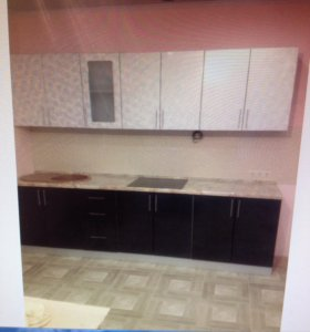 Кухонный гарнитур с мойкой, 280 см.