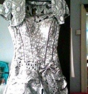Платье карсет
