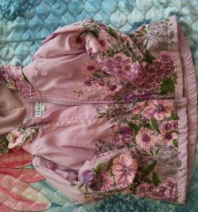 Курточка осень весна на девочку