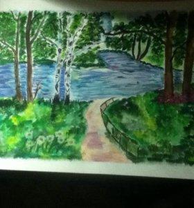 Дорога к речке
