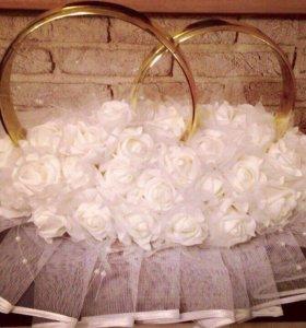 Свадебные кольца (на прокат)