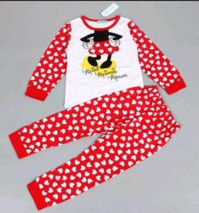 Новые пижамки для девочек