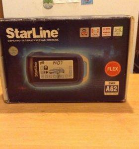 Автосигнализация StarLine CAN A62