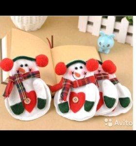 Снеговики для приборов