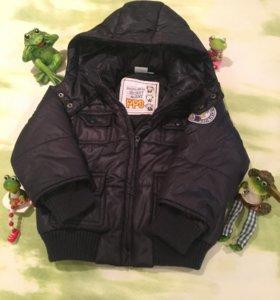 Куртка зимняя на малыша