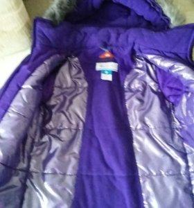 Куртка зимняя на 128 рост