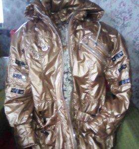 Куртка теплая, женская,весенняя.