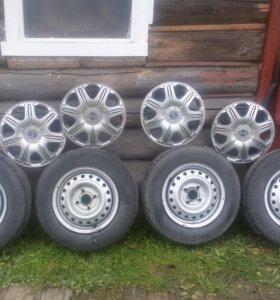 Продам колеса на Daewoo Nexia R13
