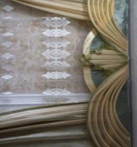 Пошив шторы