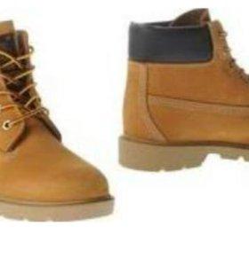Новые ботинки Timberland.