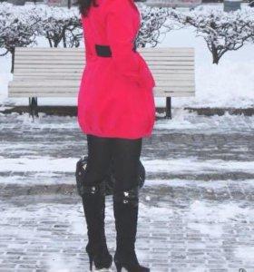 Стильное пальто осень -зима