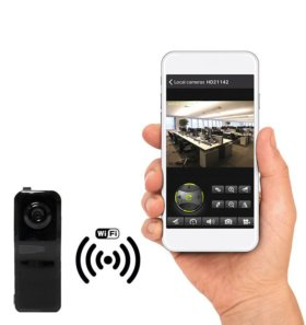 WI FI видеокамера MS801
