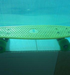 Скейтборд ( пенни борд)