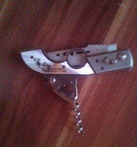 Продам ножик, в виде пестолета