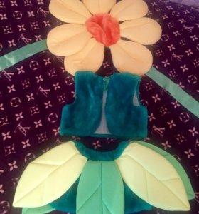Цветочек карнавальный костюм