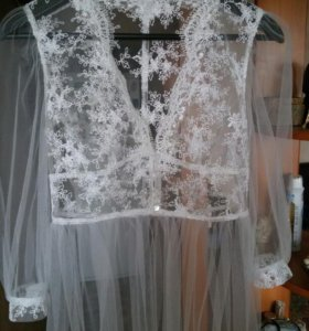 Свадебный халатик