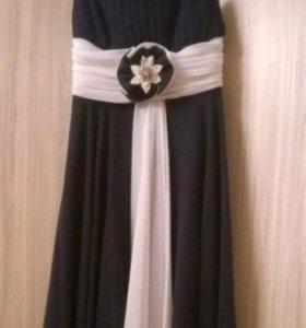 Вечернее платье шифоновое размер 44