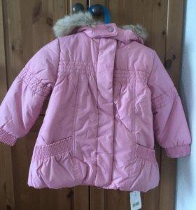 Куртка новая деми mother care 92см