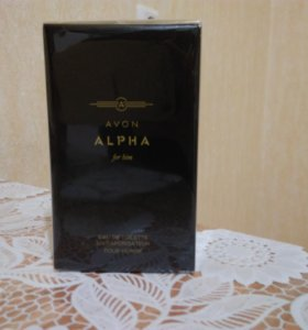 Alpha 75мл мужское туалетная вода