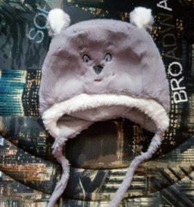 Детская зимняя шапочка