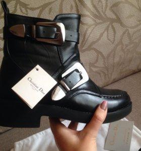 Полусапожки ( ботинки, ) демисезонные , Dior