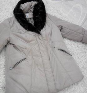 Зимний пуховик 64 размер